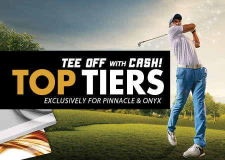 Top Tiers Party: Tee Off with Cash